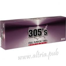 305's Full Flavor 100's [Box]