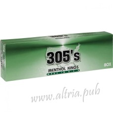 305's Menthol Kings [Box]