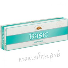Basic Menthol Silver [Pack Box]