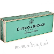 Benson & Hedges Menthol 100's [Box]