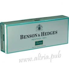 Benson & Hedges Menthol 100's Luxury [Soft Pack]