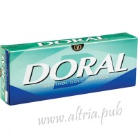 Doral Menthol Gold 100's [Box]