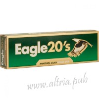 Eagle 20's Menthol Gold King [Box]