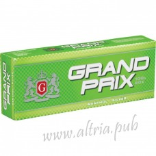 Grand Prix Menthol Silver 100's [Box]