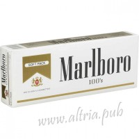 Marlboro 100's Gold Pack [Soft Pack]