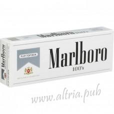 Marlboro 100's Silver [Pack Box]