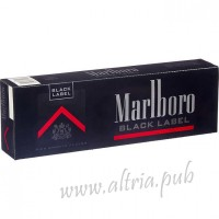 Marlboro Black Label Resealable [Box]