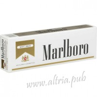 Marlboro Gold Pack [Soft Pack]