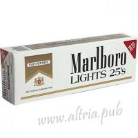 Marlboro Lights 25's Gold [Pack Box]