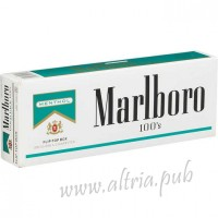 Marlboro Menthol 100's Gold [Pack Box]