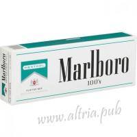 Marlboro Menthol 100's Silver [Pack Box]