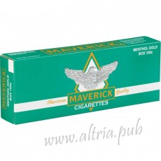 Maverick Menthol Gold 100's [Box]