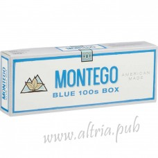 Montego Blue 100's [Box]