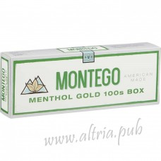 Montego Menthol Gold 100's [Box]