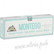 Montego Menthol Silver 100's [Box]