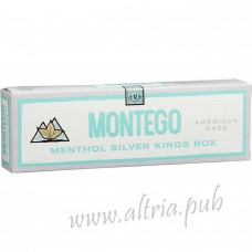Montego Menthol Silver Kings [Box]