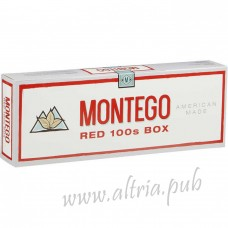 Montego Red 100's [Box]