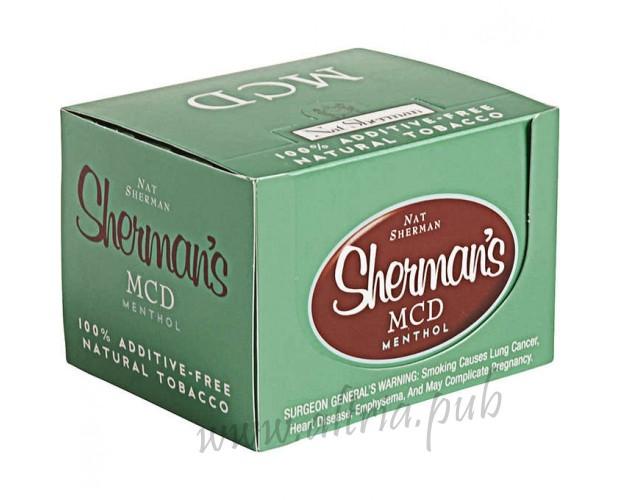 Nat Sherman MCD Menthol [Box]