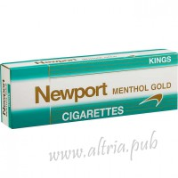 Newport Kings Menthol Gold