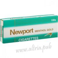 Newport Menthol Gold 100's [Soft Pack]