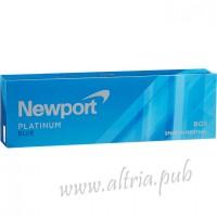 Newport Menthol Platinum Blue [Box]