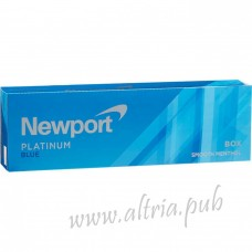 Newport Menthol Platinum Blue [Box]