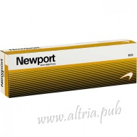Newport Non-Menthol Gold King [Box]