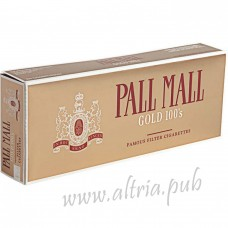 Pall Mall Gold 100's [Box]