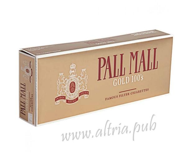 Pall Mall Gold 100's [Box]