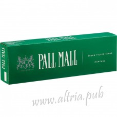 Pall Mall King Menthol [Box]