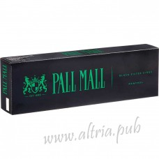 Pall Mall Menthol Black [Box]