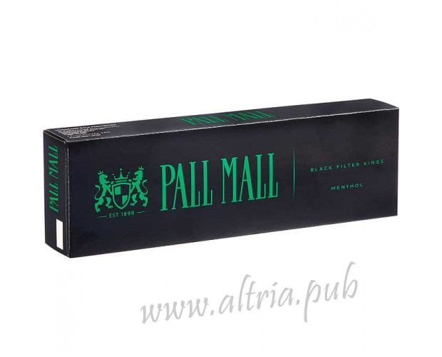 Pall Mall Menthol Black [Box]