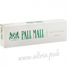 Pall Mall Menthol White Filter Kings [Box]