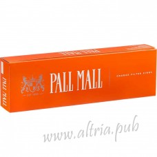 Pall Mall Orange Filter Kings [Box]