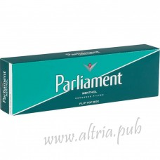 Parliament Menthol Green [Pack Box]