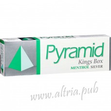 Pyramid King Menthol Silver [Box]