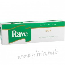 Rave Menthol Dark Green Kings [Box]