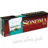 Sonoma King Menthol Green Box
