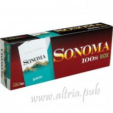 Sonoma Menthol Dark Green 100's [Box]