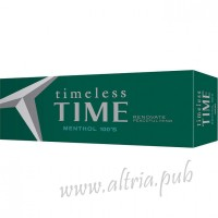 Timeless Time Menthol 100 [Box]