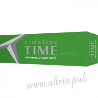 Timeless Time Menthol Green 100 [Box]