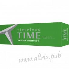 Timeless Time Menthol Green 100 [Box]