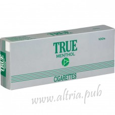 True Green Menthol 100's [Box]