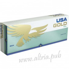 USA Gold Menthol Green 100's [Box]