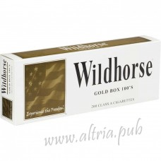Wildhorse Gold 100's [Box]