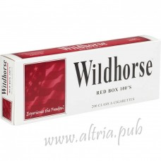 Wildhorse Red 100's [Box]