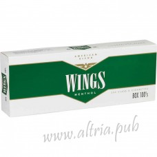 Wings Menthol 100's [Box]