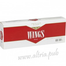 Wings Red 100's [Box]